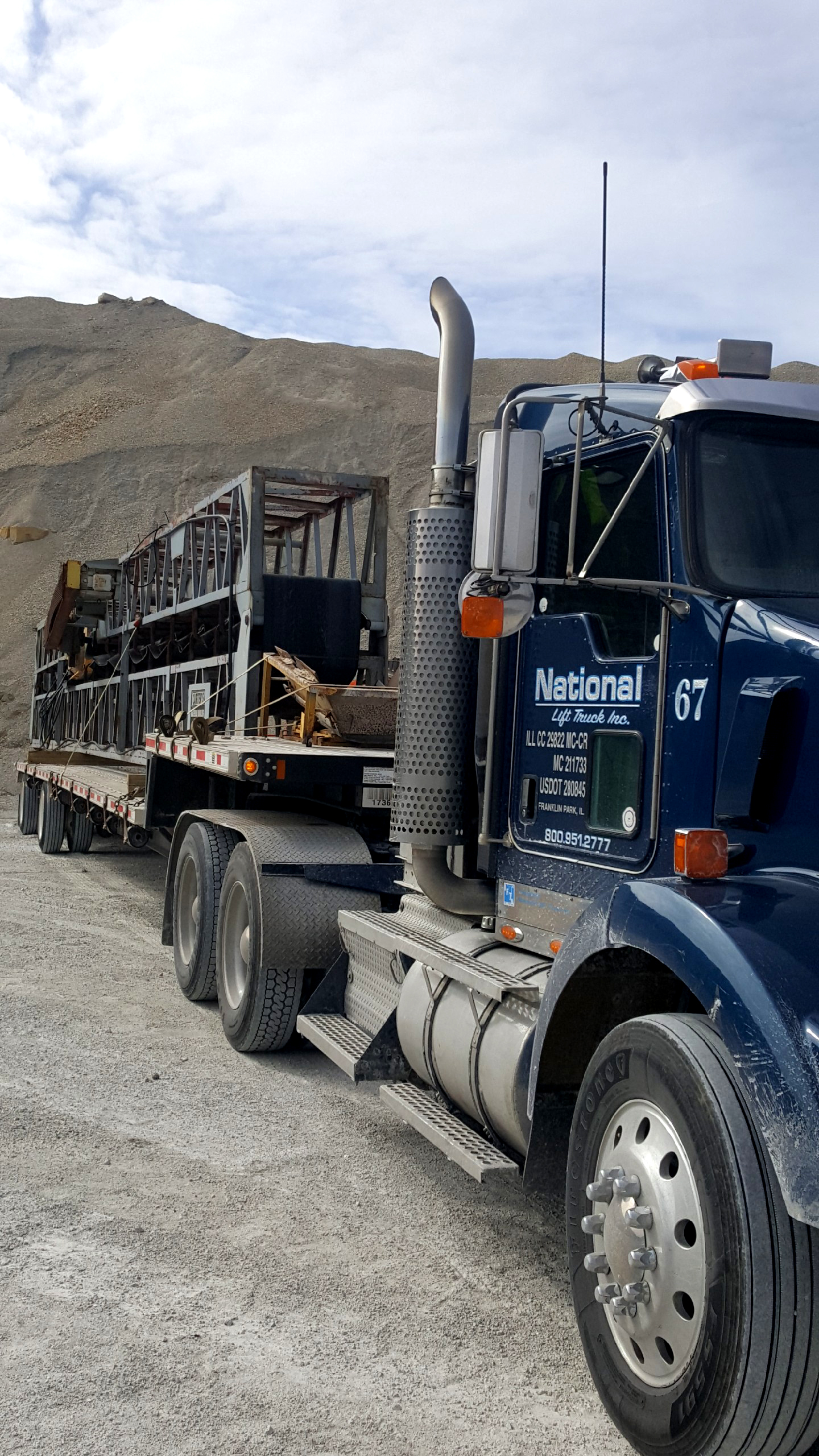 Specialized Haul-For-Hire Transportation Hauling, heavy