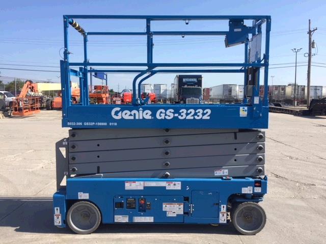 Used Scissor Lift For Sale >> Used Genie Gs323 Genie Gs 3232 Genie Gs 3232 Scissor Lift Rental